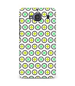 Amez designer printed 3d premium high quality back case cover for Xiaomi Redmi 2S (Texture1)