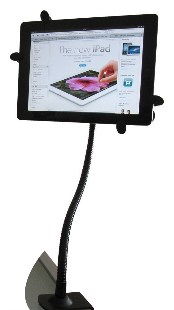 tablet bed stand