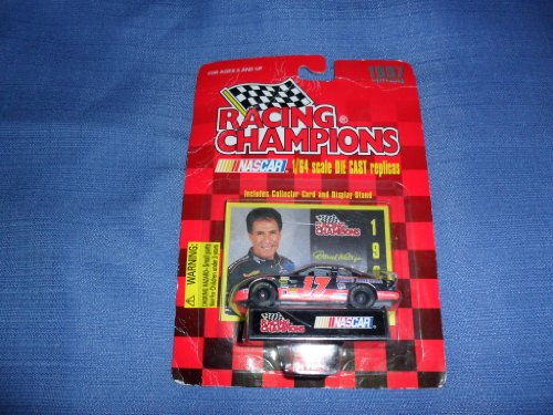 1997 NASCAR Racing Champions . . . Darrell Waltrip #17 Western Auto Parts America Chevy Monte Carlo 1/64 Diecast . . . Includes Collector's Card & Display Stand