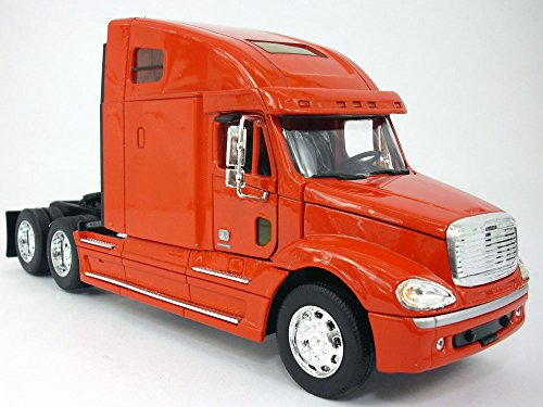 Freightliner Columbia Extended Cab Truck 1/32 Scale Diecast Metal and Plastic Model - RED (Freightliner Diecast compare prices)