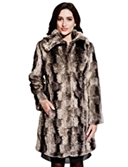 Per Una Faux Fur Coat