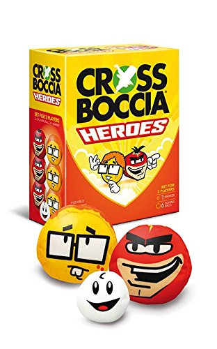 "CROSSBOCCIA-DOUBLE-PACK HEROES, Design ""Super+Nerd"""