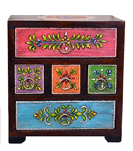 hand-painted-five-drawer-spice-or-jewellery-chest-sourced-in-india