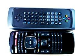 Original VIZIO XRT303 Qwerty keyboard remote for M3D550KDE M3D470KDE M3D550KD 3D M-GO TV internet TV