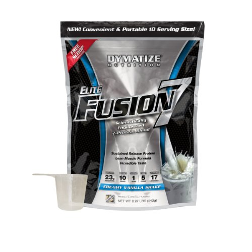 Dymatize Nutrition Dymatize Nutrition Elite Fusion, Vanilla, 440 Gram