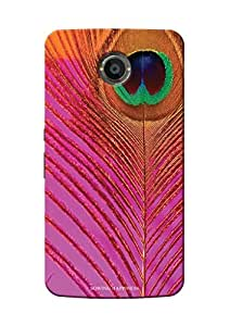Sowing Happiness Printed Back Cover For Google Nexus 6