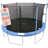 Upper Bounce Trampoline Enclosure Safety Net, Poles Sold Separately