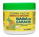 Baba de Caracol Facial Moisturizing Cream Alantoina, Collagen and Vitamins A and E, 48 Count