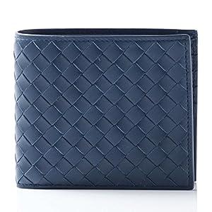 BOTTEGA VENETA 2 fold wallet VN Pacific Blue 113993-v4651-4111 mens