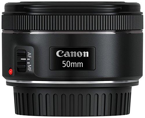 Canon-EF-50mm-f18-STM-Obiettivo-con-Lunghezza-Focale-Fissa-Nero