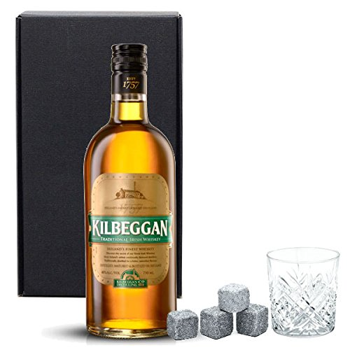 Kilbeggan Blended Irish Whiskey Gift Set