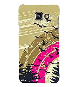 Animated Pattern of Flying Bird 3D Hard Polycarbonate Designer Back Case Cover for Samsung Galaxy A7 2016 :: Samsung Galaxy A7 2016 Duos :: Samsung Galaxy A7 2016 A710F A710M A710FD A7100 A710Y :: Samsung Galaxy A7 A710 2016 Edition