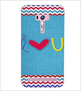 PrintDhaba Quote D-3599 Back Case Cover for ASUS ZENFONE SELFIE ZD551KL (Multi-Coloured)