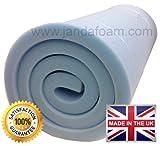 "High density firm upholstery foam 60x20x1"""