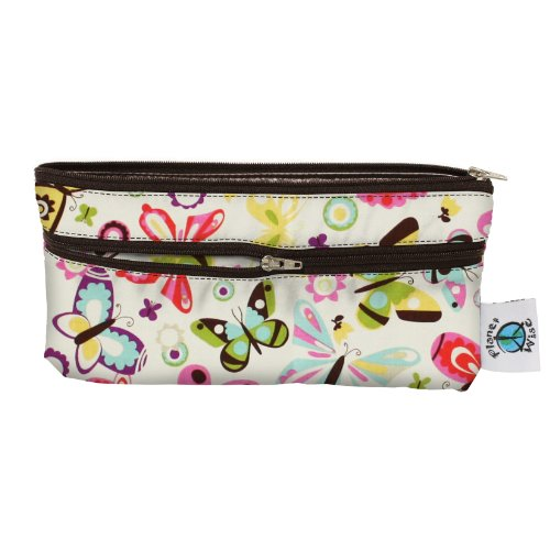 Planet Wise Travel Wet/Dry Bag, Butterflies