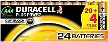 Comprar Duracell Plus Power - Pilas (Alcalino, Cilíndrico, 1,5V) Negro, Cobre