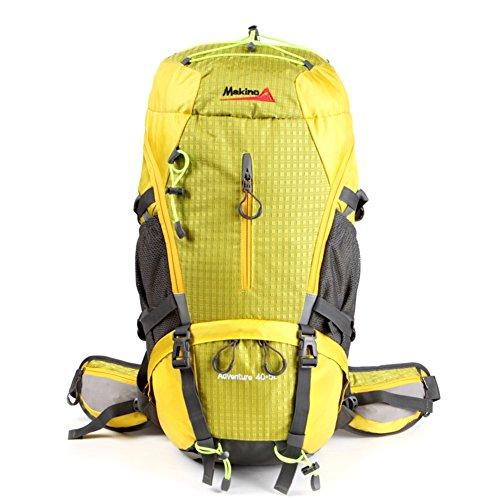 escalade extérieur sac / sac à dos / hommes et les femmes épaule / sac de randonnée-jaune 45L