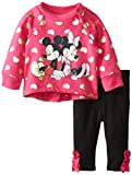 Disney Baby Baby-Girls Newborn 2 Piece Legging Set