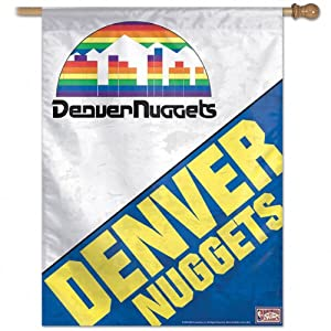 NBA Denver Nuggets 27-by-37-Inch Vertical Flag-Hardwood Classics by WinCraft