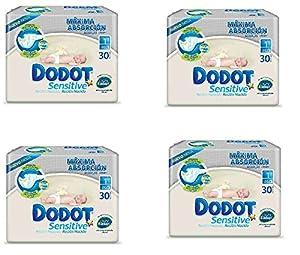 Dodot Sensitive Talla 1 (2 A 5 Kilos) 4 Paquetes De 30 Uds