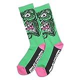 Santa Cruz Rob Face Socks - Green