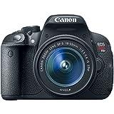 Canon EOS Rebel T5i DSLR Camera Full HD 1080p + Canon18-55mm IS STM Lens + .43x Wide Angle Lens + 2.2X Telephoto Lens + 3PC Filter Kit (UV-CPL-FLD) + 64GB Storage - International Version