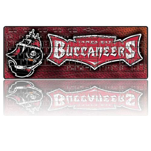 NFL Tampa Bay Buccaneers Team Promark Wireless Keyboard (Buccaneers Window Graphics compare prices)