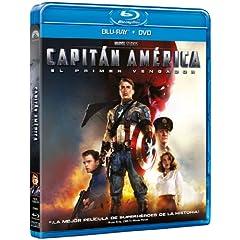 Capitán América Blu-ray