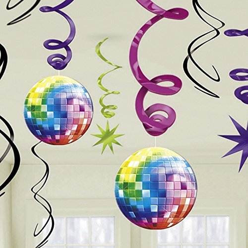 70's Danglers Party Decorations
