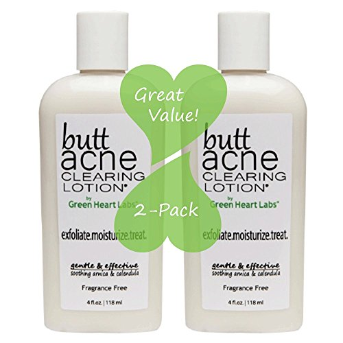 Butt Acne Clearing Lotion 2 Pack