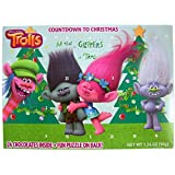 Dreamworks Trolls 2016 Advent Christmas Countdown Calendar with 24 Chocolates, 1.76 oz (Poppy and Branch)