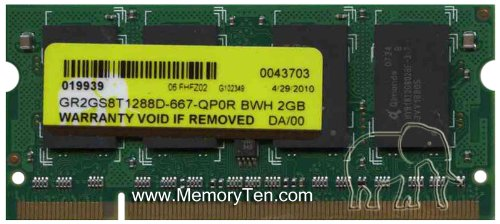 1GB Memory RAM Upgrade for the the HP Pavilion zv5000,