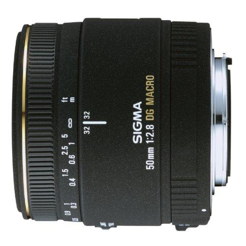 Sigma 50mm f/2.8 EX DG Macro Lens for Nikon SLR Cameras