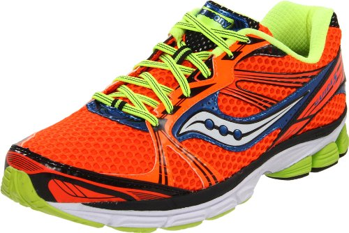Saucony Men's Progrid Guide 5 Running Shoe,Vizipro/Citron/Blue,11 M US