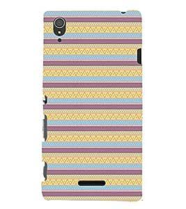 EPICCASE ethnic design Mobile Back Case Cover For Sony Xperia T3 (Designer Case)