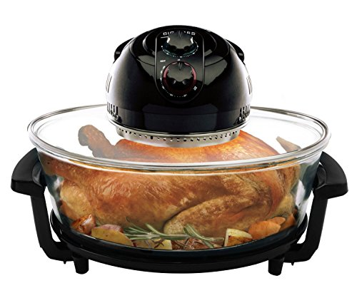 Convection Roaster Oven Countertop Jumbo Infrared Turkey, Meat, Fish Veggies, 17.5qt Electric New (Oven Fish compare prices)