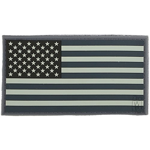 Toppa Maxpedition USA Flag Patch - Large black