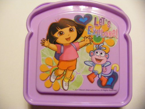 Dora the Explorer Sandwich Holder