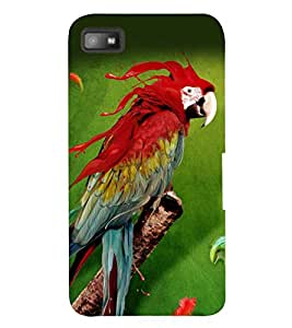 PRINTSWAG PARROT Designer Back Cover Case for BLACKBERRY Z10