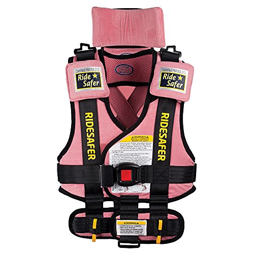 Safe Traffic System Travel Vest Type 2 Booster Seat, Pink, Large