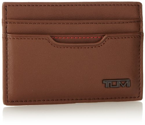 ae51c7f16cab4 Tumi Men s Delta Slim Card Case ID Saddle One Size - Richard J. Daviset