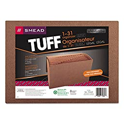 SMD70369 - Smead 70369 Leather-Like TUFF Expanding Files with Flap and Elastic Cord