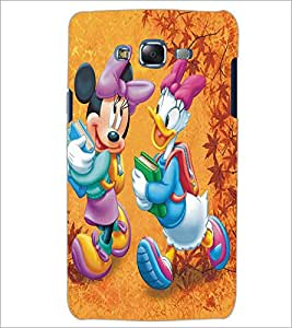 SAMSUNG GALAXY J5 CARTOON CHARACTER Designer Back Cover Case By PRINTSWAG