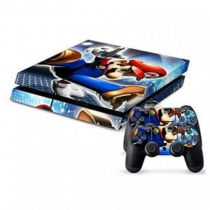 Amazon.com: Designer PS4 Vinyl Skin Mario: Video Games