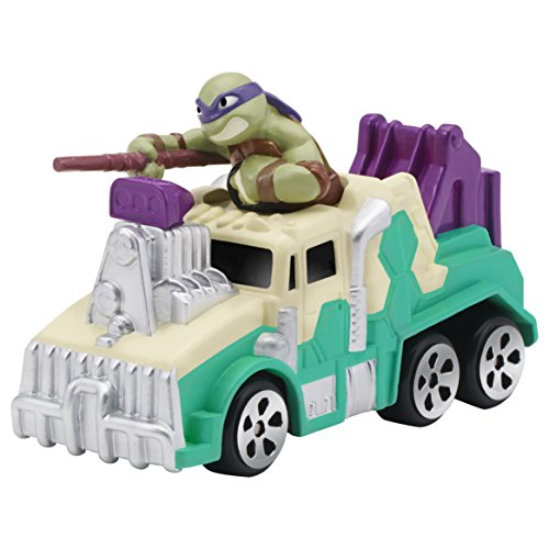 Teenage-Mutant-Ninja-Turtles-T-Machines-Truck-with-Donatello-Vehicle-with-Sound