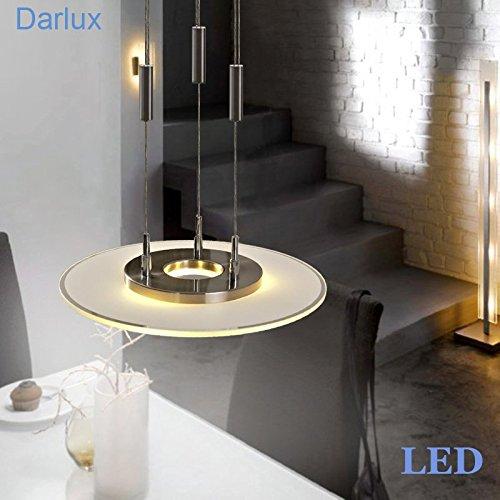 Darlux-LED-Pendelleuchte-hhenverstellbar-rund-40cm-LED-Hngeleuchte-53667516-NEU