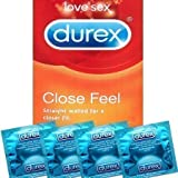 20x Durex Close Feel Condoms (Formerly Close Fit) - Discreet Packaging