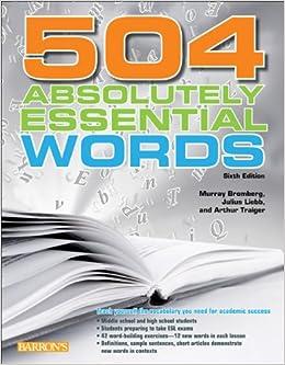 دانلود کتاب 504 واژه ضروری بافرمت پی دی اف
