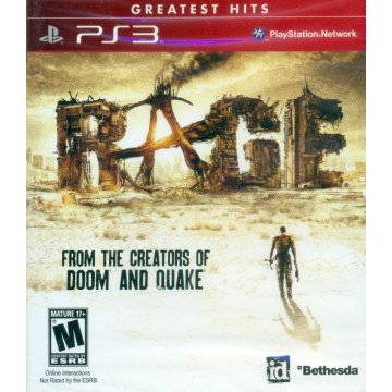 Rage Playstation 3- Greatest Hits