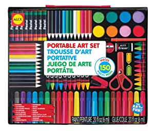 Alex Toys ALEX Toys Artist Studio Portable Art Set with Carrying Case